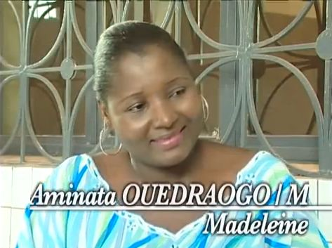Aminata Ouedraogo-Madeleine-Serie Ina Burkinabe