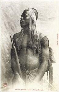 Fang portant des tresses --Les origines de la tresse africaine
