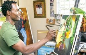 Peintre Jamaicain: Lennox Coke