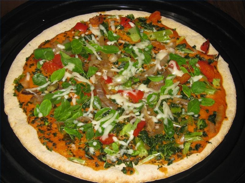 Plat Moringa Pizza