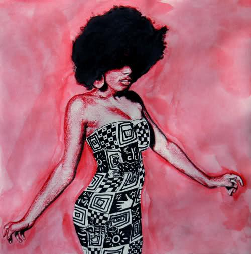 women in igbo print dress-dawn okoro