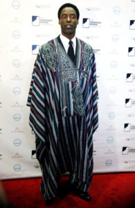Actor Isaiah Washington Appointed Chief of Sierra Leone Tribe