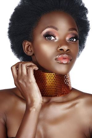 Coiffure ethnique afro