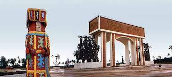 Benin ouidah-slaves routes