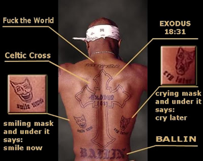 Tupac-tattoo back