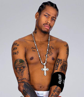 Allen Iverson tattoo- tatouage