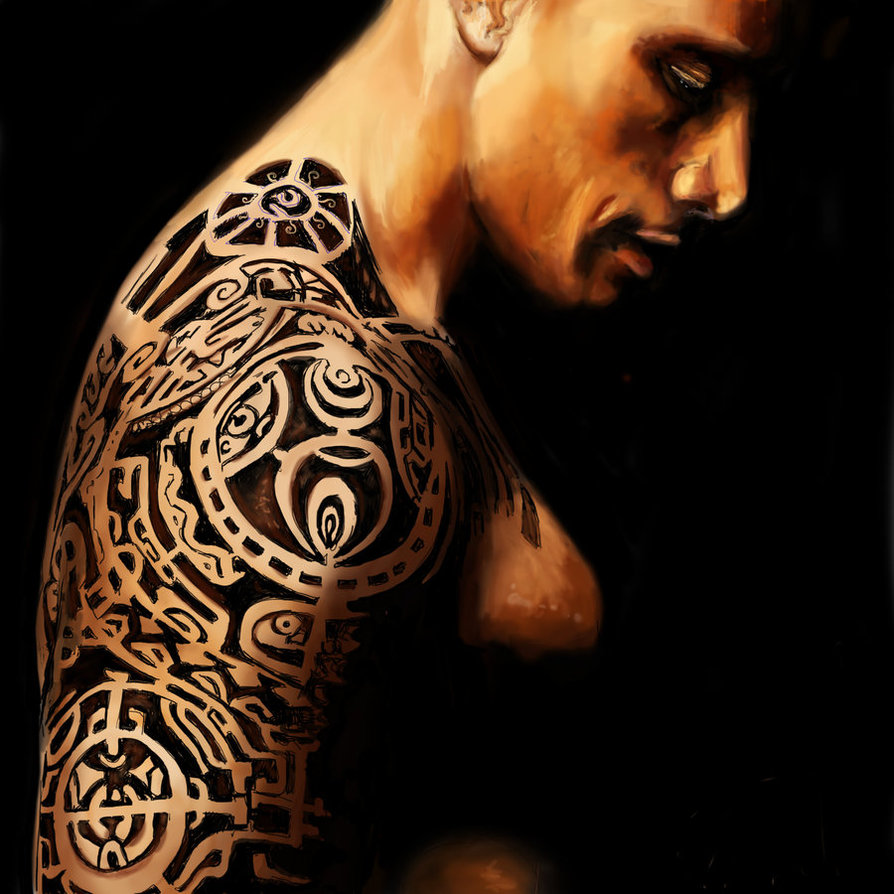 Dwayne Johnson_the rock_tattoos_tatouage