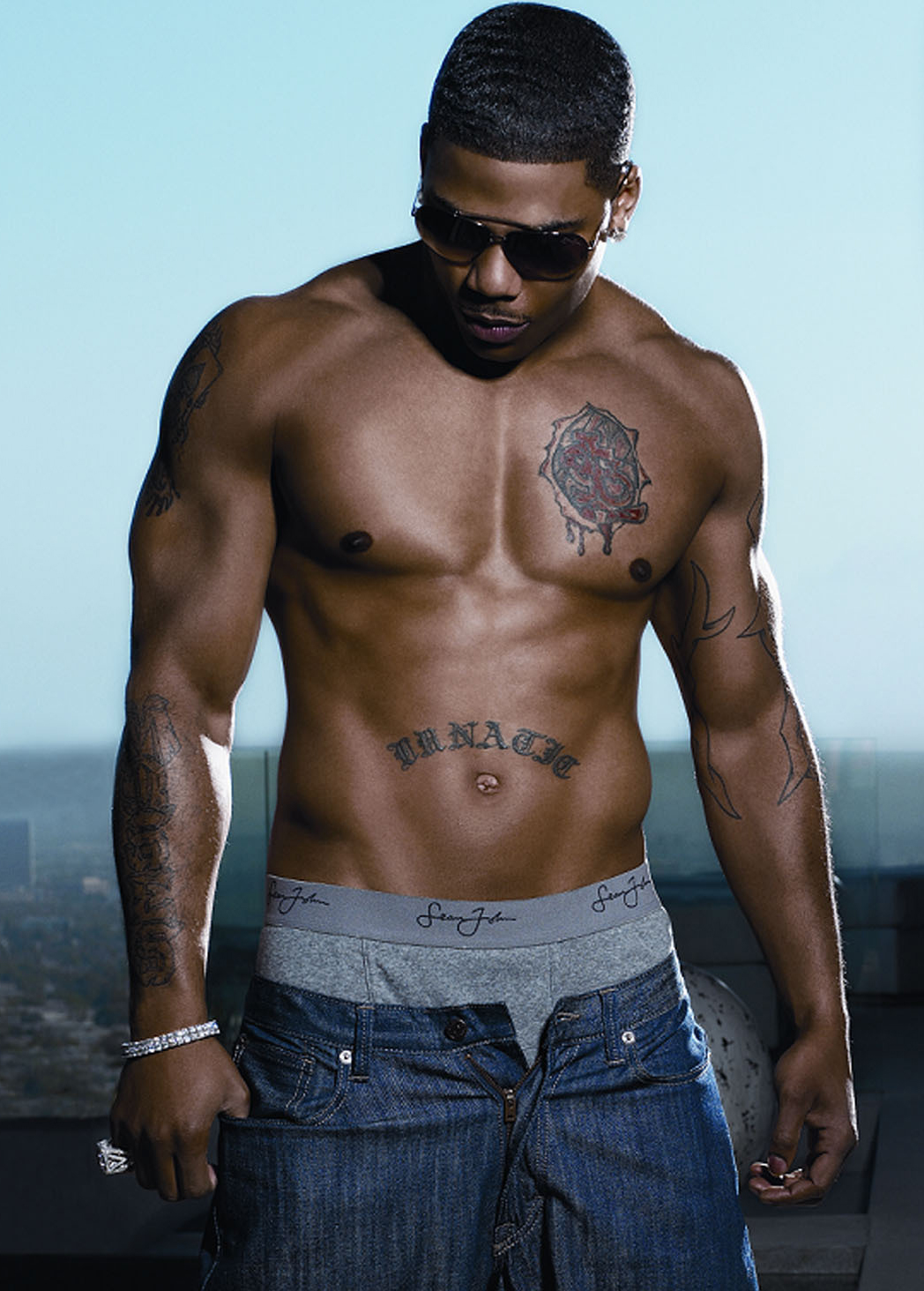 nelly tattoo