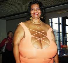 Annie Hawkins - la femme aux plus gros seins du monde