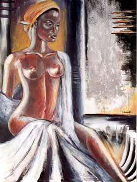 Clement, peintre martiniquais