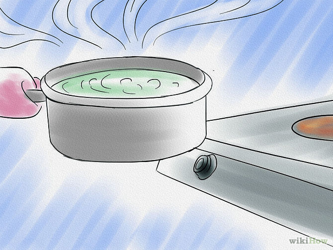 Etape 3 Retirez la casserole du feu - Purify-Water-Step-3