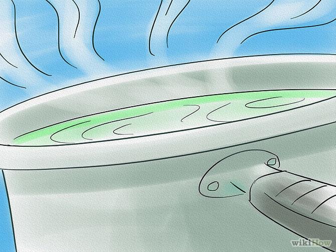 Etape 4 Laissez retomber l'eau -Purify-Water-Step