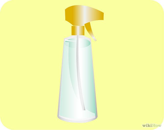 Verser le liquide de citron dans un flacon pulvérisateur-Pour-the-lemon-liquid-into-a-spray-bottle-Step-3