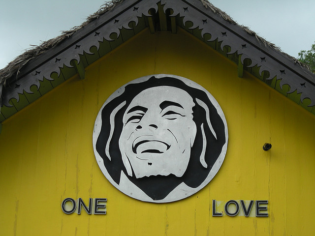 Bob Marley house, Nine Mile, Jamaica