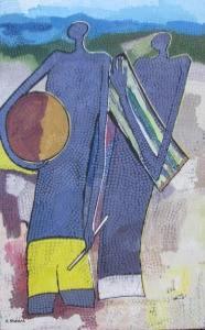 Peintre togolais edmond Yawovi Seddoh 2