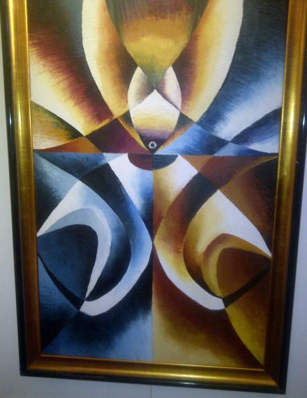 Sammy Lutaya - peintre kenyan - peintures 4