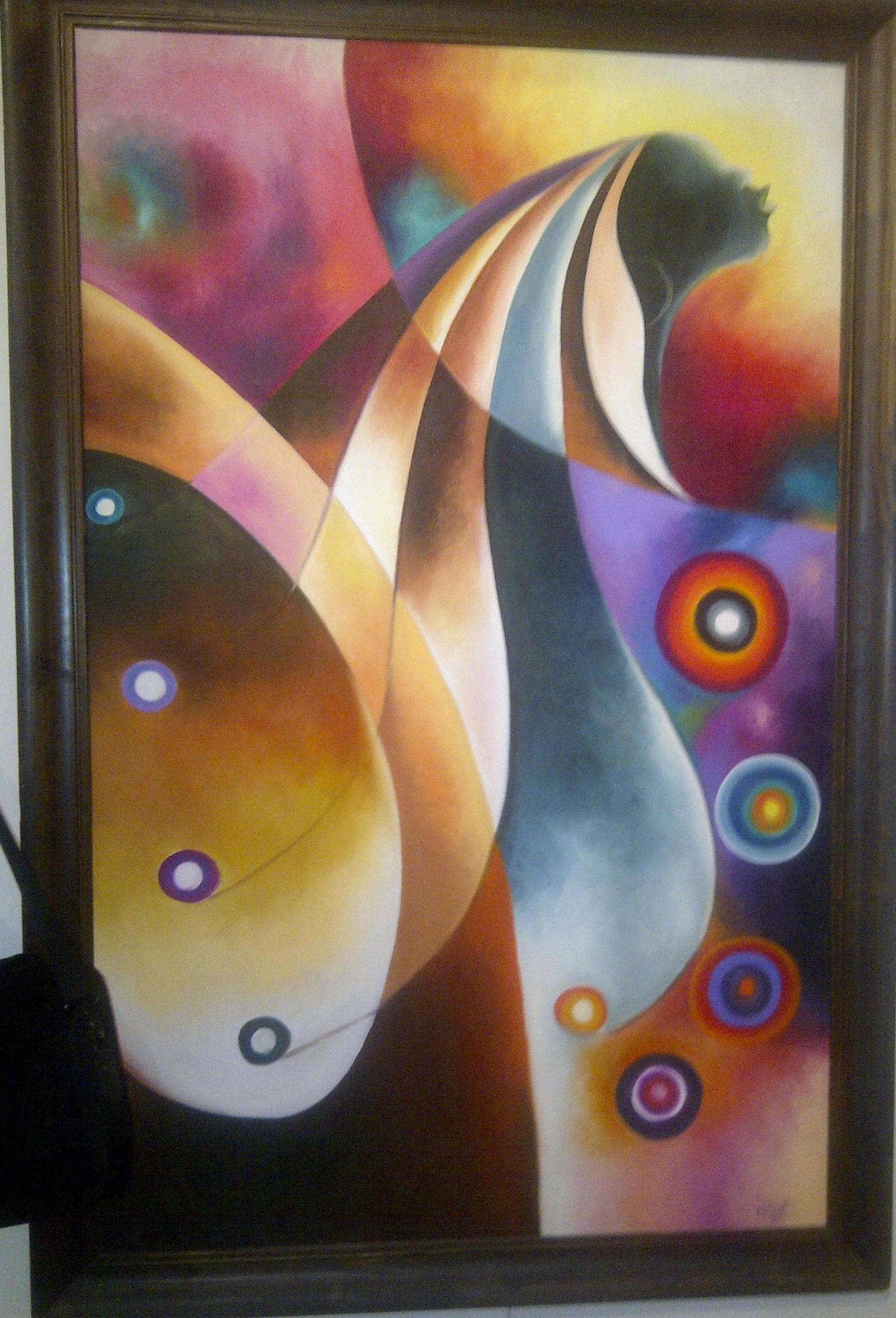 Sammy Lutaya - peintre kenyan - peintures 5