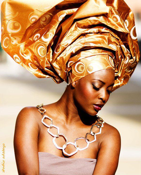 Foulard-headwrap