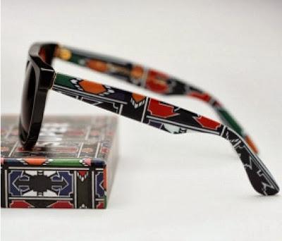 Ndebele print sunglasses