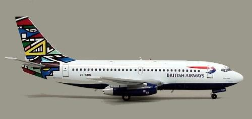 british airways -ndebele