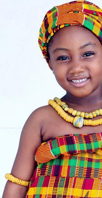 Pagne-boubou africain - Les enfants en tenue traditionnele africain (2)