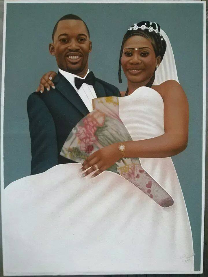 Ardhy Massamba -artiste peintre portraitiste congolais (2)