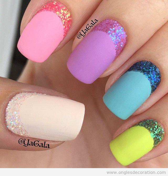 nail-art-deco-ongles-demie-lune-paillettes
