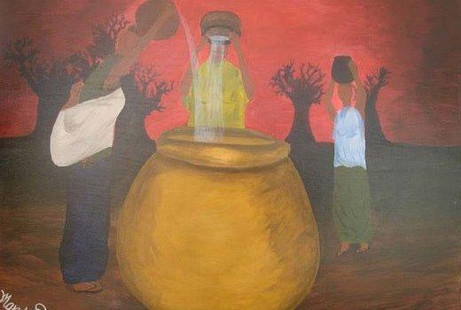 Mandela Diouf - peintre Sénégalais-demain