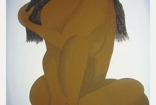 Mandela Diouf - peintre Sénégalais- femme d'afrique