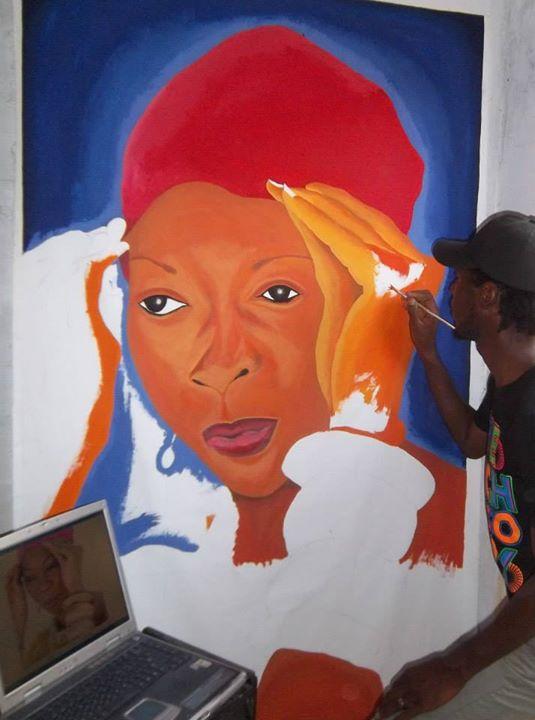 mandela diouf-peintre sénégalais --