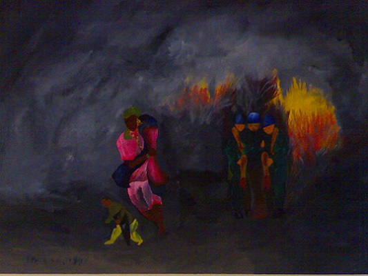mandela diouf-peintre sénégalais