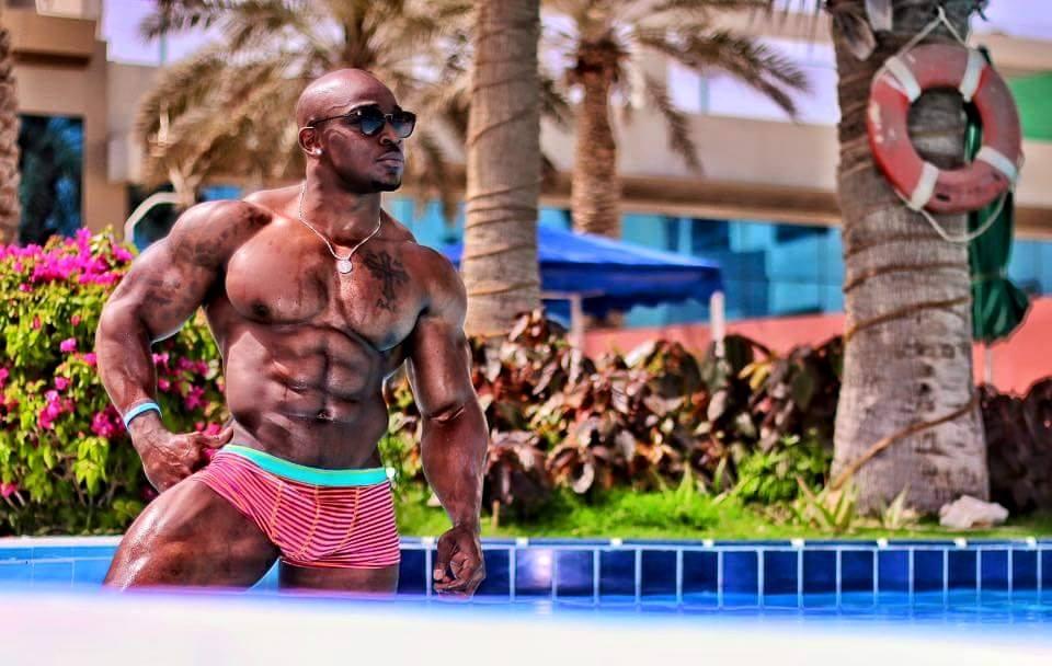 Black men muscular