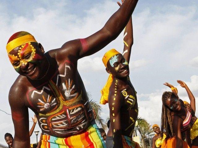 carnaval aux fleurs haiti