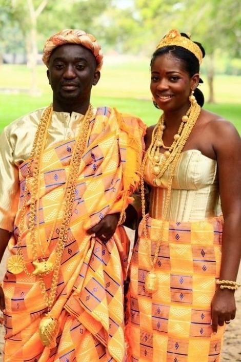 tenue baoulé - cote d ivoire