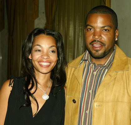 Ice cube et son epouse Kimberly Woodruff