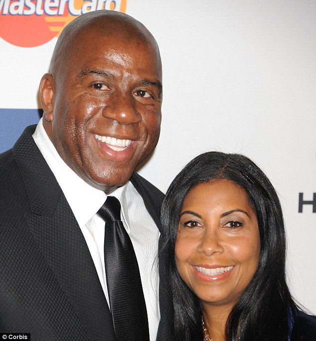 Magic Johnson et Cookie Kelly