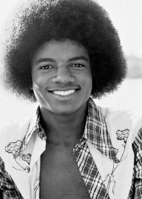 Micael Jackson - afro
