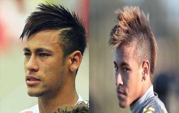 Neymar mohawk hairstyle