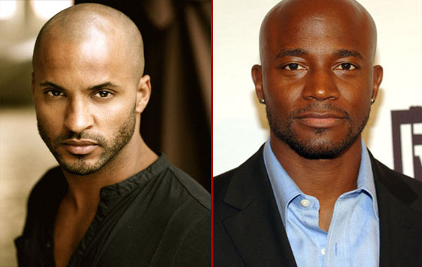 Taye Diggs - Rickie Whittle - bald hairstyle - Black men