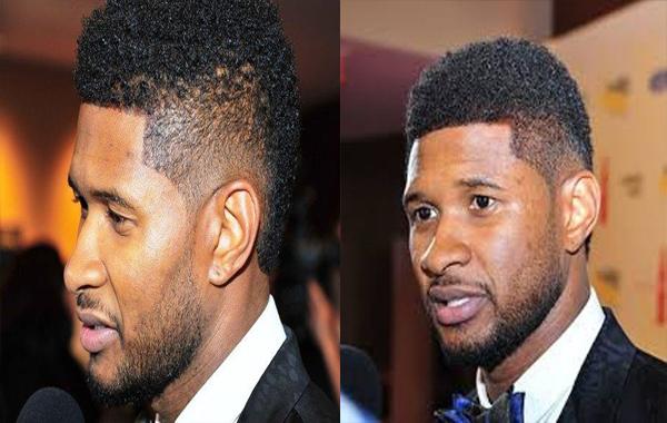 Usher Mohawk hair