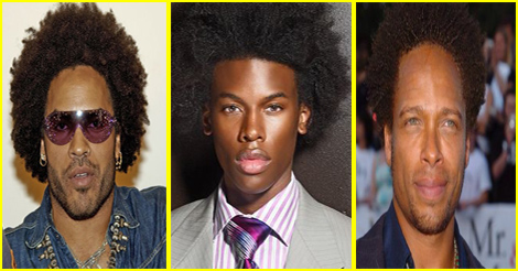 afro hairstyle for black men - coupe afro