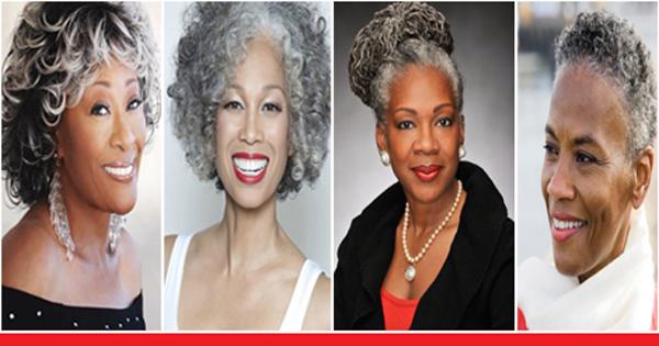 Comment Coiffer Ses Cheveux Gris Idee De Coiffure Femmes Noires Afroculture Net