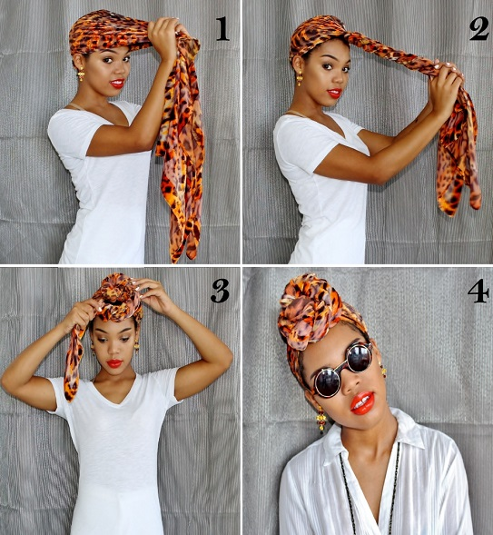 Comment Attacher Un Foulard Style Top Knot Turban Afroculture Net