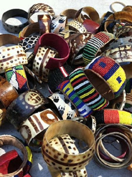 Bracelets africains - bijoux africains