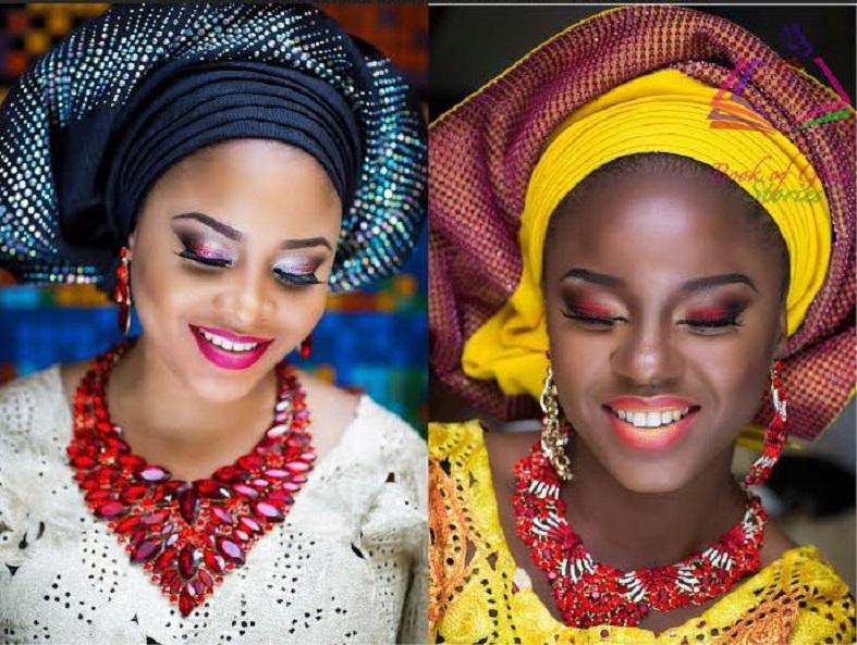 mariage africain gele-