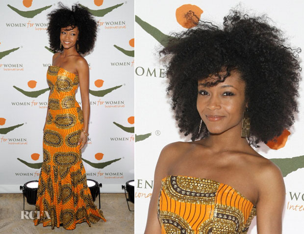 Yaya-DaCosta-In-Tafari-2012-Women-for-Women-International-Gala