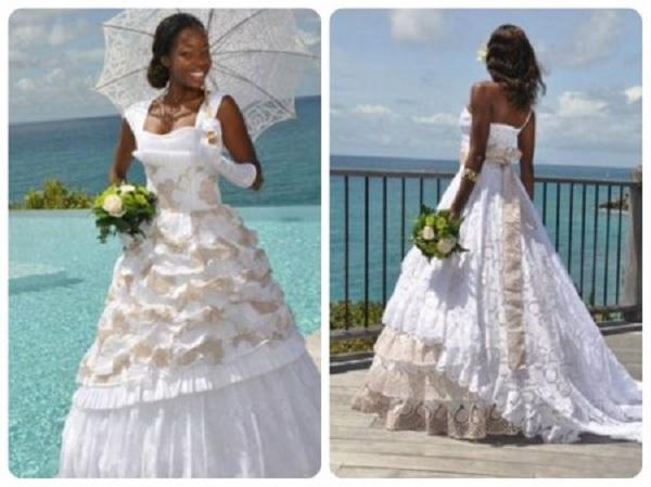 robes de mariée créoles