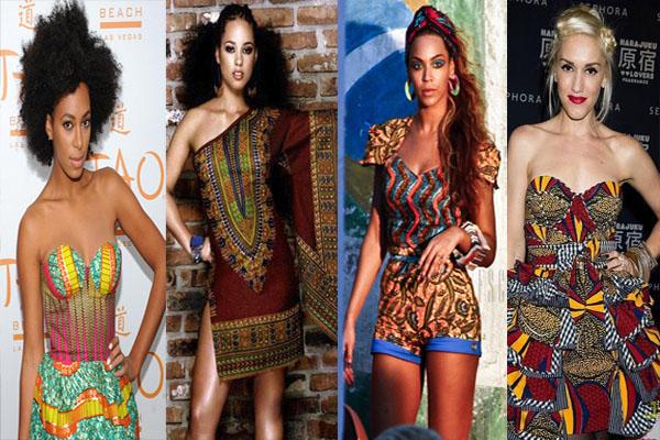 stars et célébrités en tenue traditionnelle africaine