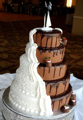 pinterest-two-sides-wedding-cake