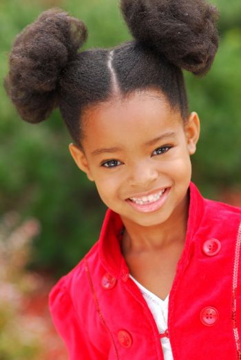 Afro Puffs And Double Buns Hairstyles For Little Black Girls Afroculture Net